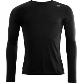 Aclima LightWool Crew Neck Shirt Men jet black